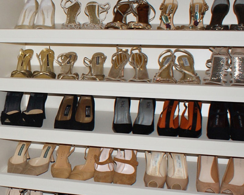 Custom Shoe Closets